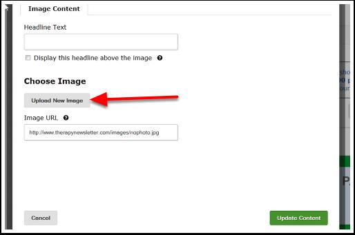 Uploading Your Image