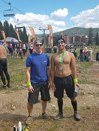 Adrian and Chad After the Race